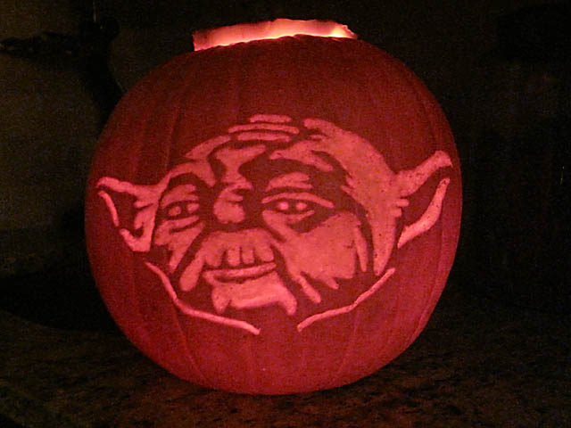 The force is strong with… your pumpkin pastorgear