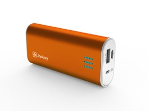 Jackery-Bar-5600mAh-Orange-Premium-Portable-Power-Bank-Pack-External-Battery-Backup-Charger-with-2.1A-Output-and-Built-In-Flashlight-0